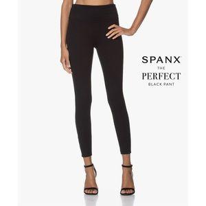 Spanx Black High Rise Skinny Ponte Pants XL
